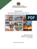 INFORME  Conflictos Ambientales