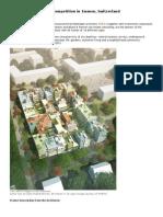 MVRDV Wins Housing Competition in Emmen
