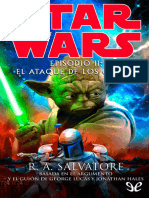 [Star Wars] [Saga Original 02] Salvatore, R. a. - Episodio II El Ataque de Los Clones [10561] (r1.1)