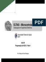 ELT043 - Aula 06 - Programação Do HCS12 - Parte 1