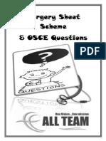 All Team Scheme & OSCE Final