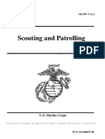 Usmc Scouting and Patrolling