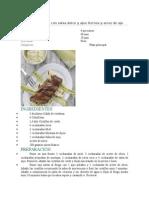 Costillas de Cerdo Con Salsa Dulce y Ajos Tiernos y Arroz de Ajo