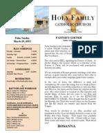 church bulletin template new