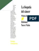 La Biopatia Del Cancer