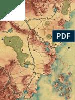 [TRADUZIDO] Legend of the Five Rings - Mapa de Rokugan