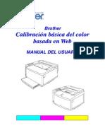 Brother Manual de Calibrar