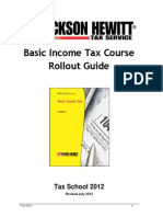 2012 Basic Income Tax Course Rollout Guide - Copy