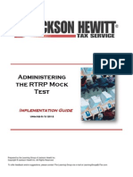 2012 Guide for Administering RTRP Mock Test - Copy