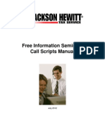 2012 Free Information Seminar Call Scripts Manual - Copy