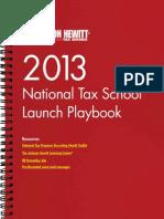 2013 Tax School Playbook - Copy