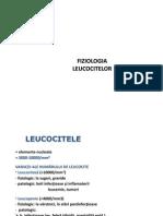 Curs 2-3 Leucocite Si Hemostaza N