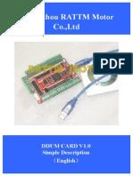 DDLMV1 English Manual