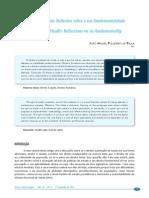 [Paula] O Direito à Saúde - Reflexões Sobre a Sua Fundamentalidade