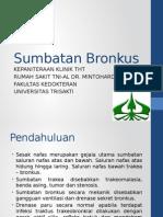 Sumbatan Bronkhus