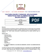 Chavin y Paracas