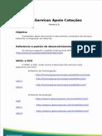 Apoio Web Service