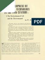 Development of Electrical Technology Siglo XIX