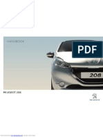 Peugeot 208 User Manual
