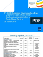 5 Water Urban-SERD by SCSandhu 24Mar2015 Rev