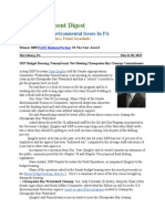 Pa Environment Digest March 30, 2015