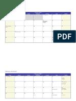 Calendar Mambiar