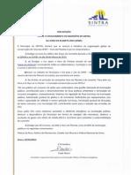 Declaração sobre o envolvimento de Sintra na Hora do Planeta 2015