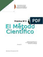 Informe Método Científico