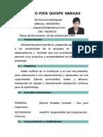 Currículum Modelo