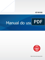 Manual Do Usuário - S4 Mini
