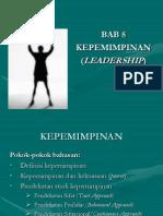 Bab 8 Kepemimpinan