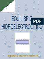 Equilibrio Agua Bioquimica