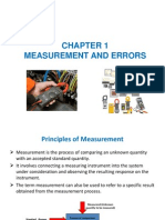 Bef 23901 Chapter 1 Measurement and Errors