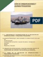 Valuacion de Barcos y Maquinas Pesqueras