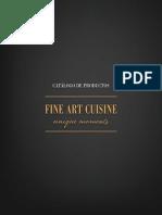 Catalogo Artistas Fine Art Cuisine