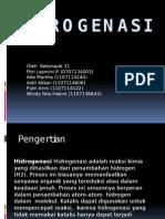 Hidrogenasi