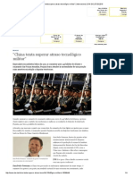″China Tenta Superar Atraso Tecnológico Militar″ _ Internacional _ DW.de _ 07.03