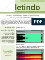 47 Mengedit Audio Dengan Adobe Sound Booth Cs3