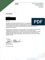 Burns Termination Letter, E-mail correspondence