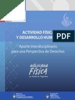 Actividad FActividad fisica y desarrollo humanoisica Desarrollo Humano Aporte Interdisciplinario Para Perspectiva de Derechos
