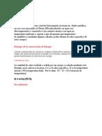 Laboratorio - Calorimetria