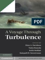 Peter a. Davidson, Yukio Kaneda, Keith Moffatt, Katepalli R. Sreenivasan-A Voyage Through Turbulence -Cambridge University Press (2011)