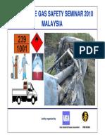 Safe Handling and Transportation of Acetylene Cylinders
