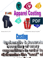 Apparel Costing