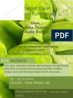 Pharmacology Effects of Averrhoa carambola