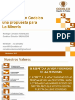 Ergonomia en Codelco