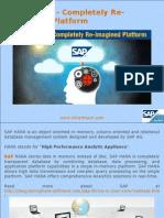 sap hana a robust inmemory computing platform