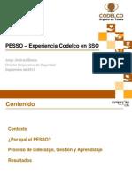 Experiencia en SSO Codelco