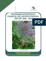 Programa Estratégico Forestal Del Distrito Federal 2014