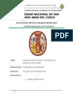 Caracteristicas Fisicas y Quimicas Del Material Particulado (1)